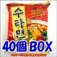 ★sinnara★【サムヤン/三養】ス(手)タ(打ち)麺 40個1BOX