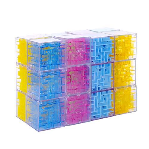 GUDA Adventskalender Inhalt 24 Stück 3D Balance Denksportaufgaben