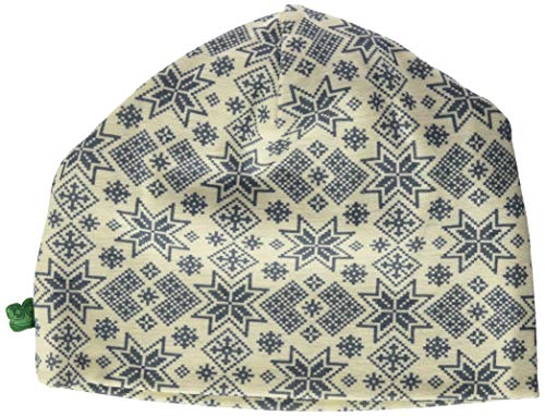 Fred's World by Green Cotton Boys Wool Beanie Hat, Cream, 116/122