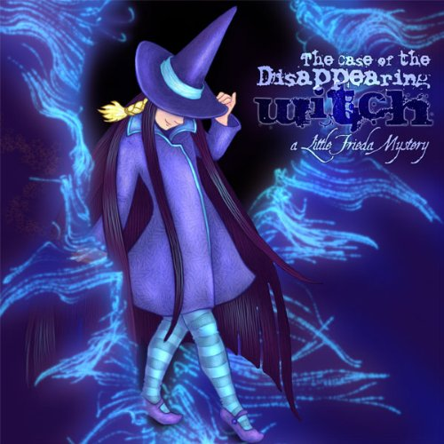 The Case of the Disappearing Witch audiobook cover art