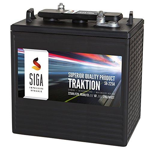 Antriebsbatterie 6V 225Ah Traktion Batterie Stapler Hubwagen Hebebühne Kehrmaschinen Solar 185Ah