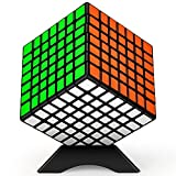 TOYESS Cubo Mágico 7x7, Speed Cube Paquete de Regalo de Juguete de Rompecabezas para Niños y Adultos, Negro