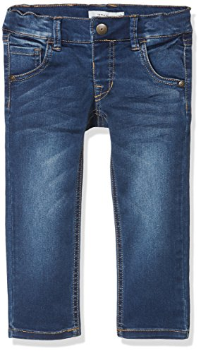 NAME IT Baby-Jungen NKMRYAN DNMTAZ 3004 Pant NOOS Jeans, Grau (Dark Blue Denim), 104