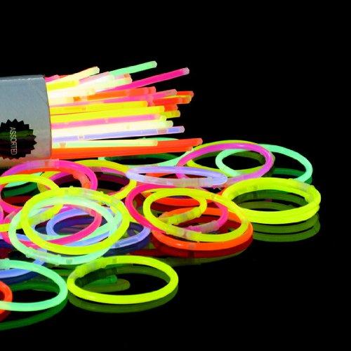 Générique Bracelets Lumineux 100 pz - multicolor, Assortis - version italienne