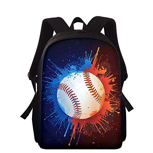 NDISTIN Sports Style Backpack for Boys Fashion Rucksack Breathable Comfortable School Bag Daypack Kids Children Bookbags Travel Camping Hiking Lightweight Satchel Men Mountaineering Best Equipment