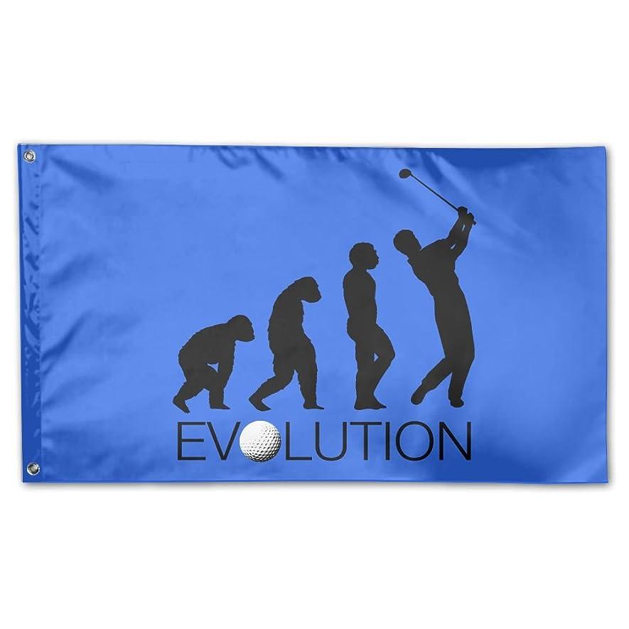 無数の宝石プーノGarden Flag Golf Evolution 3?x 5ftホームYard壁国旗バナー装飾