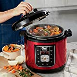 Best Multi Cookers - 6-Qt. Multi Cooker by Chef Tested, Metallic Red Review