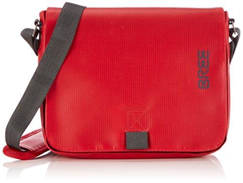 BREE Pnch 61, red, shoulder bag 83152061 Unisex-Erwachsene Schultertaschen 26x6x21 cm (B x H x T), Rot (red 152)