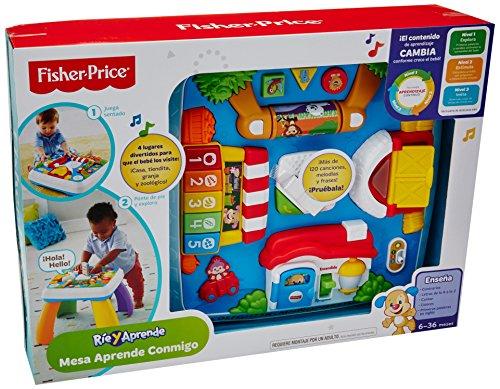 Fisher Price Ríe y Aprende Mesa Aprende Conmig