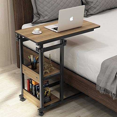 Tribesigns Snack Side Table, Mobile End Table Height...