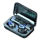 Cuffie Bluetooth 5.0 Auricolari Bluetooth Senza Fili, CVC8.0 Cancellazione di Rumore Cuffie Senza Fili con Mic, Cuffie Wireless Sport in Ear con Display LED e Touch Control
