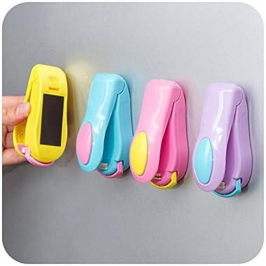 Mini Portable Handheld Heat Bag Sealer,Bag Sealer Bags Heat Sealer for Plastic Food Potato Chip Bag, Hand-held Food Saver(Random Color)