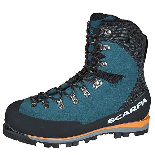 Mont Blanc GTX Chaussures de Montagne pour Homme - Bleu - Bleu (Lake Blue Gore Tex Agm Essential AC), 41.5 EU EU