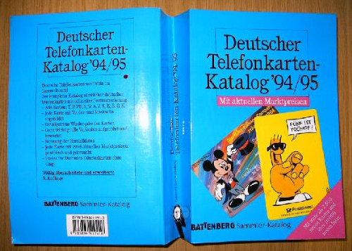 Deutscher Telefonkarten- Katalog \'94/95
