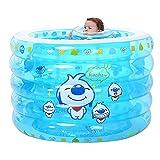 WASDY Piscinas Bebe,Piscina Bebe,Piscina Inflable Infantil. Piscina De Agua para Niños Material PVC Ideal para Bebés Y Niños Y Niñas Pequeños