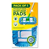 Microfiber Heavy Duty Dry Pads Fit Swiffer Sweeper - Dry Sweeping Cloth Refills by VanDuck - (Mop is Not Included)...