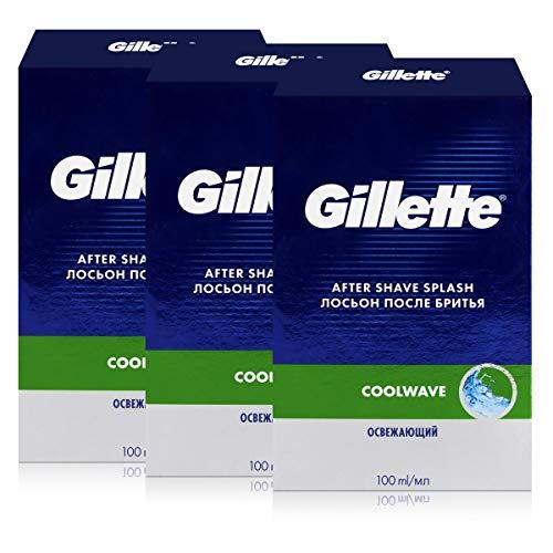 Gillette Series After Shave Cool Wave 100ml (3er Pack)
