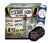 Collectix Escape Room Il gioco 2 (gioco di base), gioco di società a partire dai 16 anni + 5 adesivi Exit + 1 poster ottico