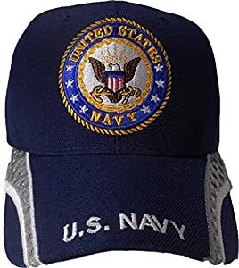 Cap2shoes Men's United States Navy Cap One Size Multi Color
