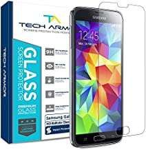 Tech Armor Premium Ballistic Glass Screen Protector for Samsung Galaxy S5 [1-Pack]