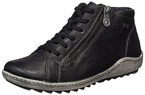 Remonte Damen R1470 Hohe Sneaker, Schwarz (Schwarz 01), 40 EU