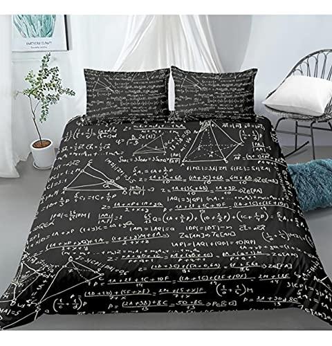 ysldtty 3D Modern Bedding Set Dollar Motif Printed Duvet Cover Vivid Comforter Cover Money Maths Pattern Funny Bed Set P0609W 200CM x 200CM With 2 pice pillowcase 50CM x 75CM