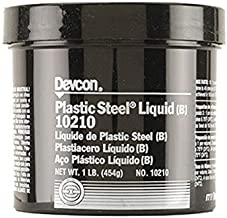 Devcon 10210 Plastic Steel Liquid (B) Epoxy, 1 lbs Bottle 1/EA