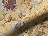 Möbelstoff Mondragone 709 Blumenmuster Farbe gelb als