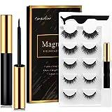 Cils magnétiques, eye-liner magnétique, cils magnétiques artificiels, 5 cils magnétiques avec...