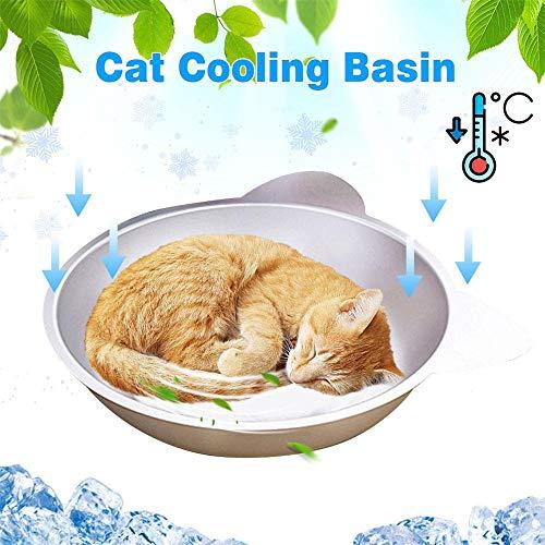 ADDG Manta de refrigeración Esteras de Hielo doméstico del Gato del Gato Sofá Cama cojín de enfriamiento del Tour de Dormir Que acampa colchonetas para Perros Gatos