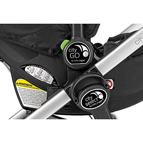 Baby Jogger/Graco Car Seat Adapters for City Select and City Select LUX Strollers, Black