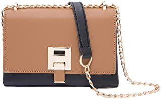 VogueZone009 Women's Casual Shopping Bags Chains Pu Crossbody Bags,CCABO219242