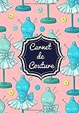 Carnet de Couture: Planificateur de projet pour Couturière | Gardez une trace de vos services, clients et créations | Grand Format 100 pages | Cadeau pour Couturière, Créateur, Amoureux Hand Made.