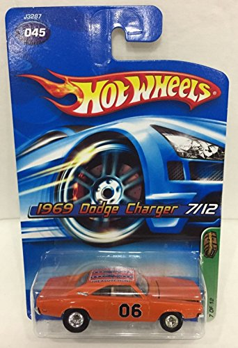 2006 Hot Wheels Super Treasure Hunt 1969 Dodge Charger 07/12 RARE and HTF!!! Voted One Of The Most Hunted Supers!!!! by Hot Wheels