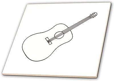 Amazon Com 3drose Susans Zoo Crew Music Instrument Guitar