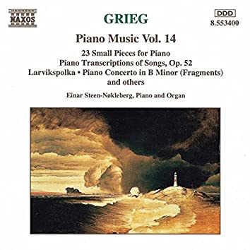 GRIEG: Piano Transcriptions of Songs, Op. 52 / 23 Small Pieces