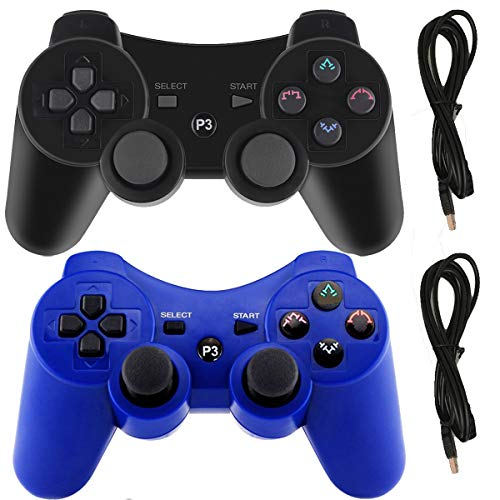 top rated PS3 PlayStation 3 DualShock 6-Axis Bluetooth Remote Game Molgek Wireless Controller… 2020