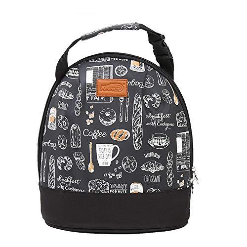 Outdoor hiking backpack Épaissir Le Sac d'isolation, imperméable Sac à Lunch Sac bière Sac de Pique-Nique étudiant boîte à Lunch Portable Sac 5.2L, adapté pour 1-2 Personnes