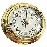 KSUVR Barómetro estación meteorológica doméstica Multifuncional barómetro sin líquido barómetro meteorológico estación meteorológica de Radio meteorológica