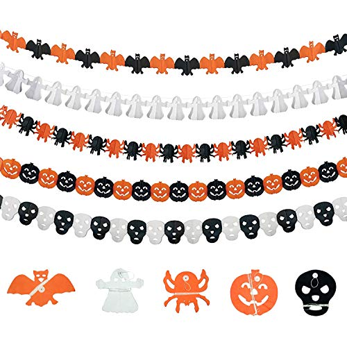 set de guirnaldas para Halloween