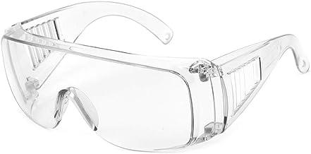 OWSOO Occhiali di Protezione Antisdrucciolo Antisdrucciolo Antivento Occhiali Antipolvere Occhiali da Lavoro protettivi