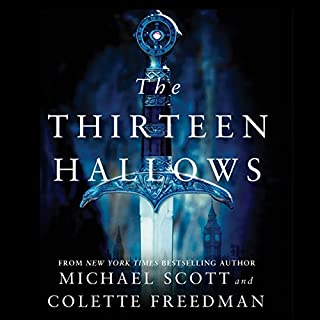 The Thirteen Hallows audiobook cover art