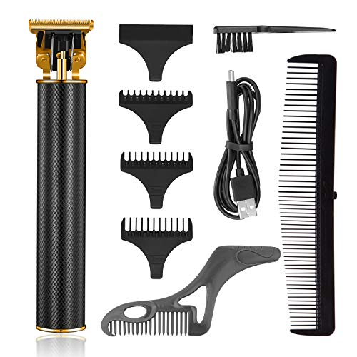 Roziaplus Hair Clippers for Men - Upgrade Professional Electric Pro Li Electric Hair Clippers Barber Kits Zero Gapped - Rechargeable Cordless Hair Trimmer with Guide Combs
