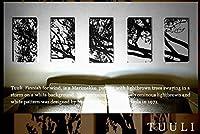 ファブリックパネル アリス TUULI トゥーリ 40×22×2.5cm 5枚セット インテリア アート ボード 北欧 【同梱可】