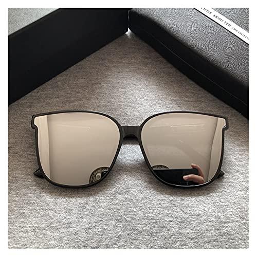 Gafas de Sol para Mujer A estrenar Hombres Marco Cuadrado Gafas de Sol Moda Mujeres Vintage Eyewear Diseñador Suave Gafas de Sol Estrella Popular GM Gafas de Sol (Lenses Color : Original Package)