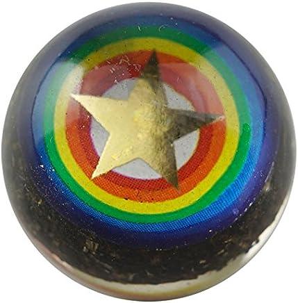 隕石入りツボ押し球 パワーナイン 血行促進 Gibeon meteorite  (直径30ミリ)