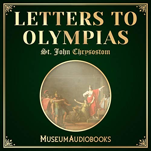 Letters to Olympias audiobook cover art