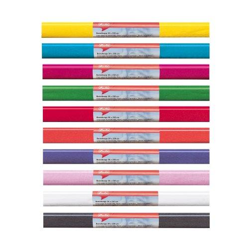 Herlitz 253039 Papier crépon, (L) 500 x (L) 2500 mm, orange