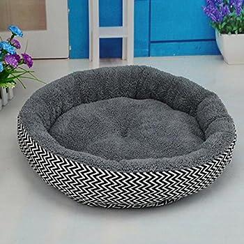 Coussin chaud lit canapé pour animaux chiot chien chat en hiver-Gris S