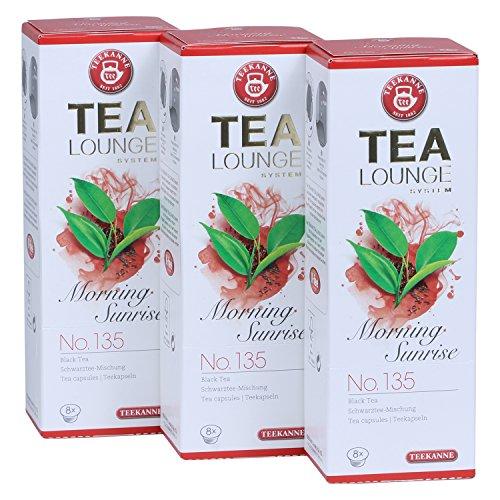 Teekanne Tealounge Kapseln - Morning Sunrise No. 135 Schwarzer Tee (3x8 Kapseln)